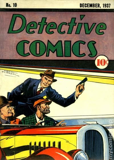 comic books december 1937