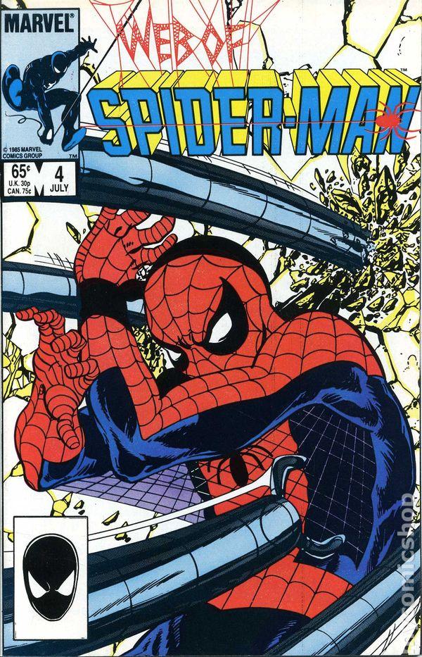 Web of Spider-Man #39 Direct Market Edition ~ NEAR MINT NM ~ 1988 Marvel