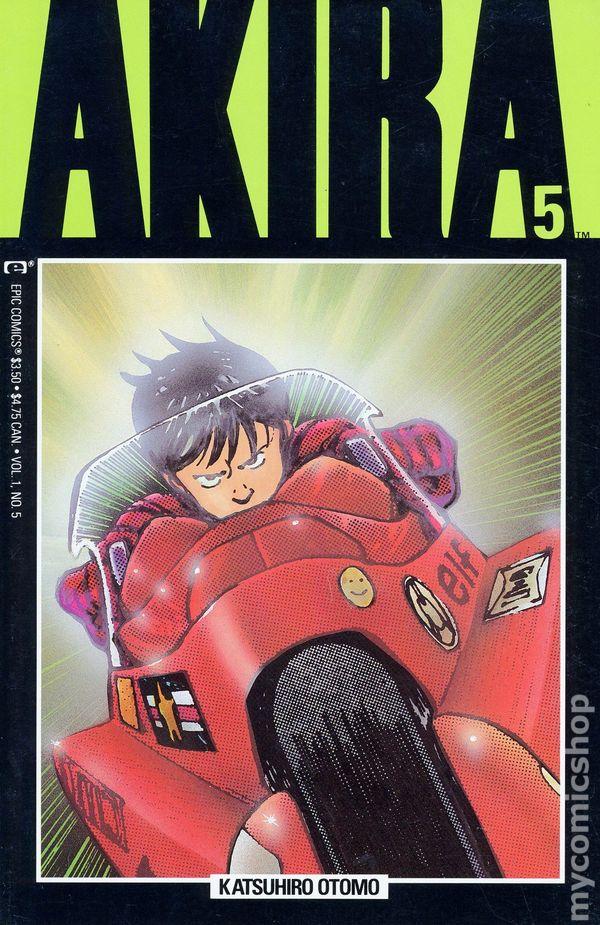 Akira 1988 Comic Books