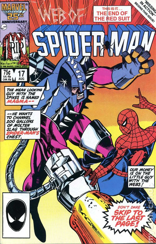 Comic Books In Spider Man Missing In Action