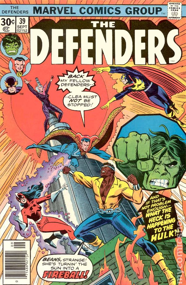 DEFENDERS #23 VOL1 MARVEL COMICS HULK DR STRANGE MAY 1975