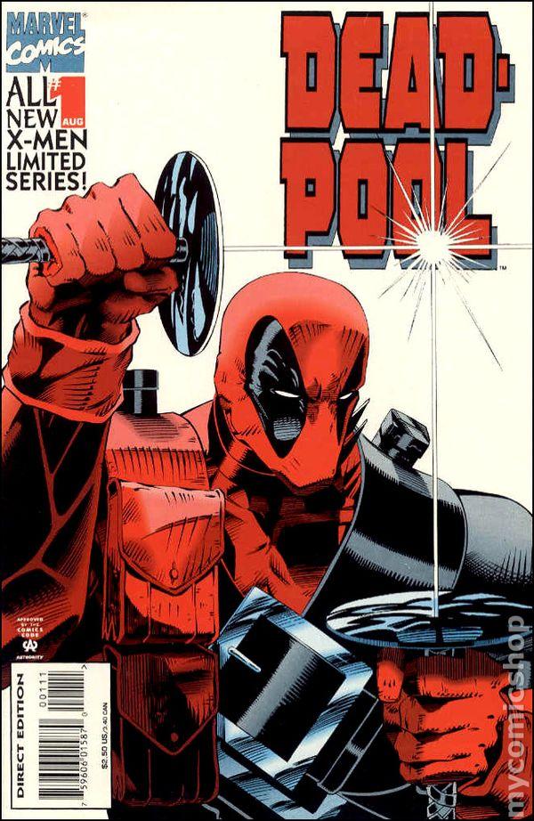 Deadpool 1994 mini series comic books for Deadpool show
