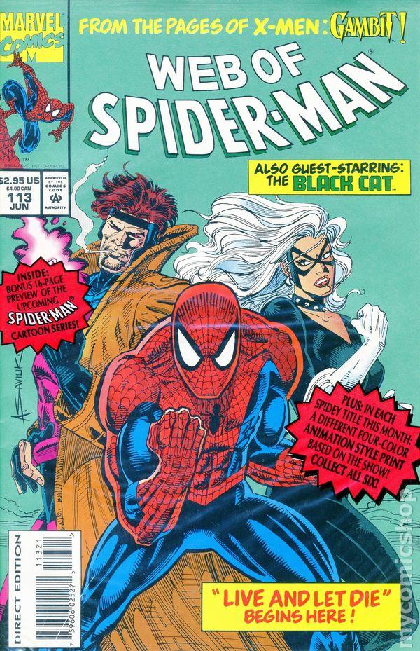 Web Of Spider Man 1985 1st Series Comic Books