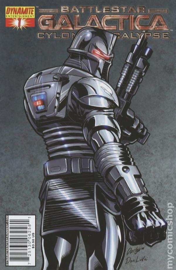 Starbuck Battlestar Galactica >> Battlestar Galactica Cylon Apocalypse (2007) comic books