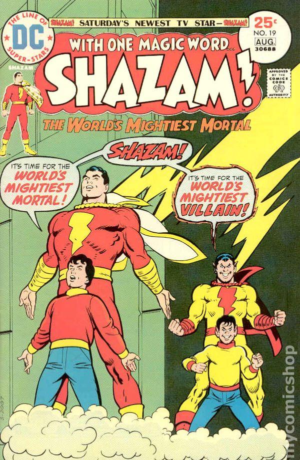 3.5 1973 Stock Image Low Grade Shazam #5 VG