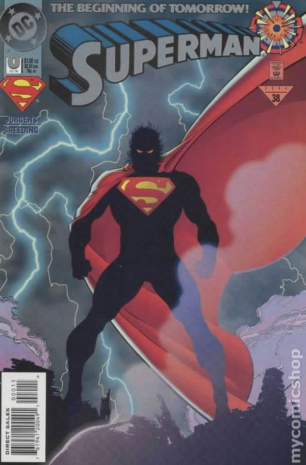 Superman 1987 2nd Series 0A Superman comic