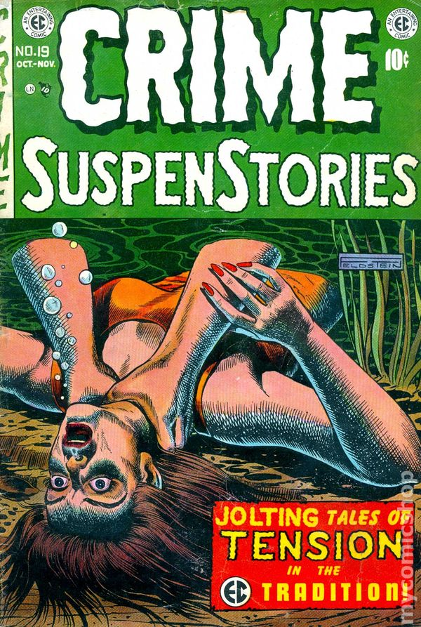 Image result for ec comics crime stories