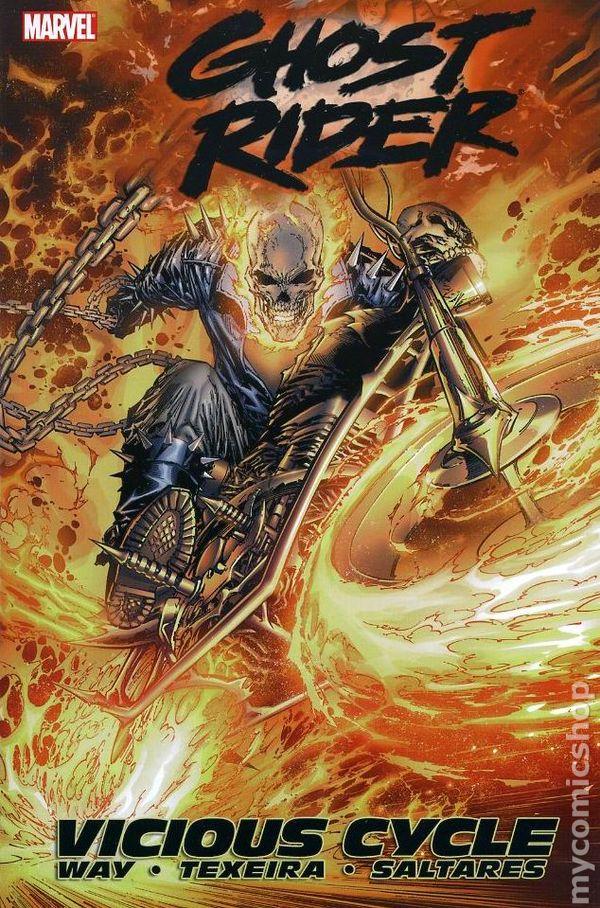 Ghost Rider TPB (2007-2008 Marvel) By Daniel Way comic books
