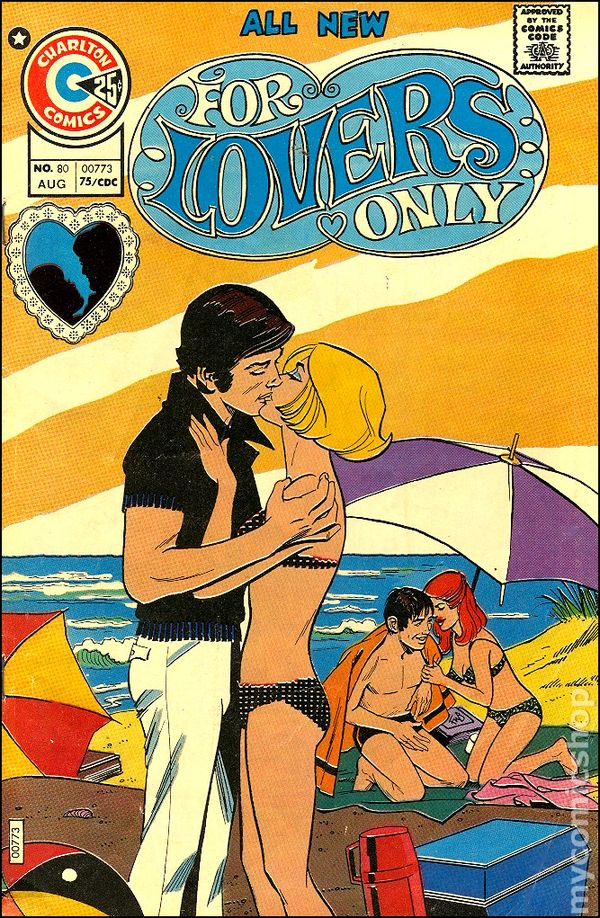 for lovers only  1971  comic books