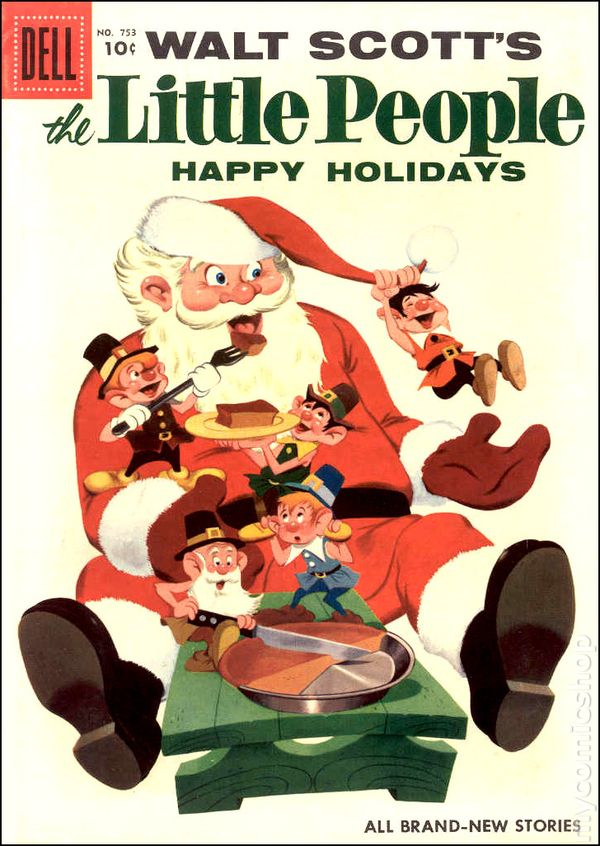 comic books in santa claus - Books About Santa Claus 2