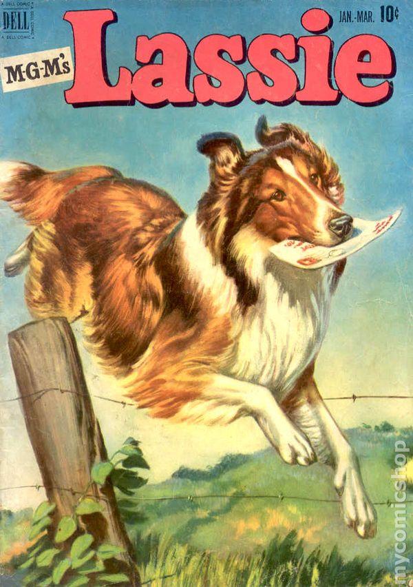 Lassie (1950) comic books