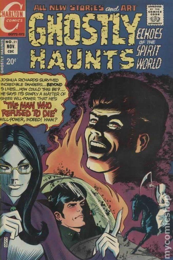 Ghostly Haunts (1971) comic books