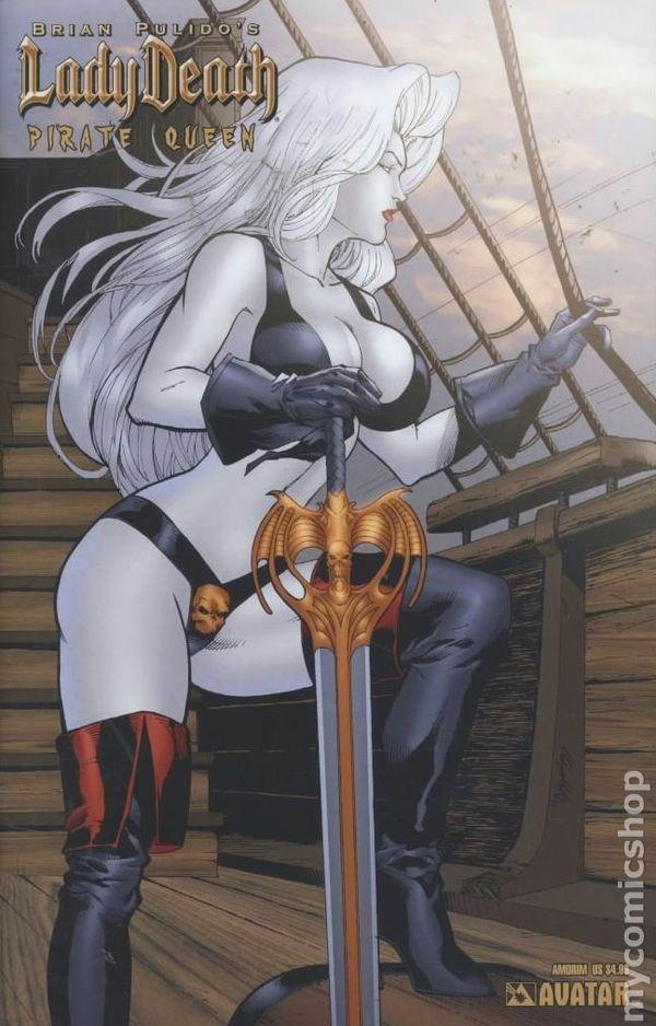 Lady Death Pirate Queen 2007 Comic Books