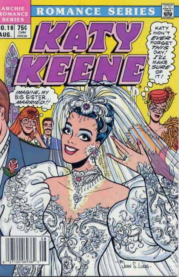 Image result for katy keene comics 1990s