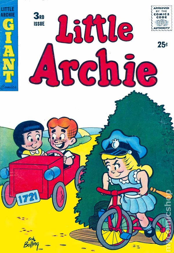 little archie  1956  comic books
