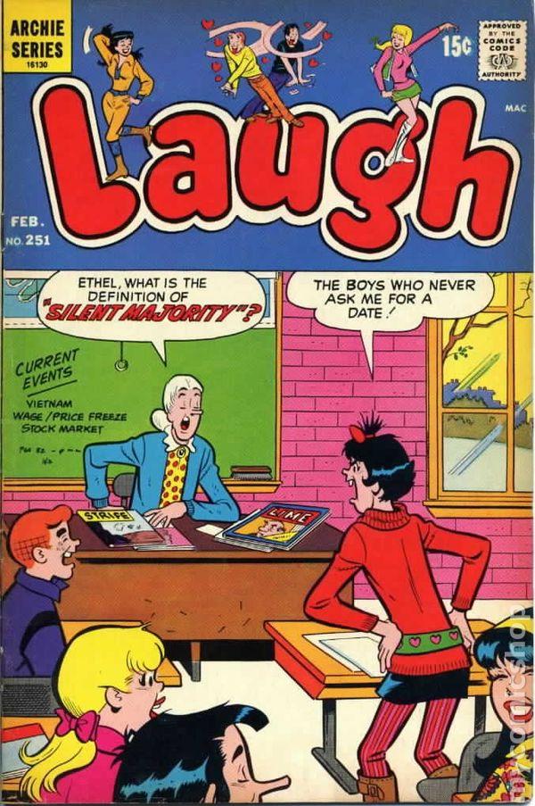 laugh comics  st series comic books