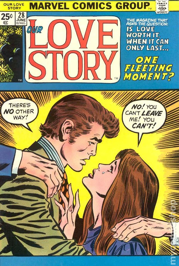 Our Love Story (1969) Comic Books