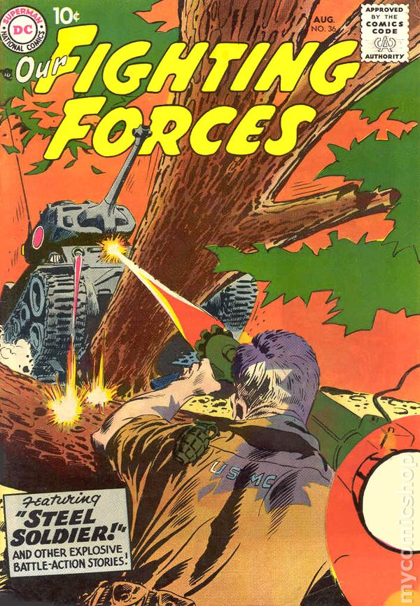 Our Fighting Forces (1954) comic books