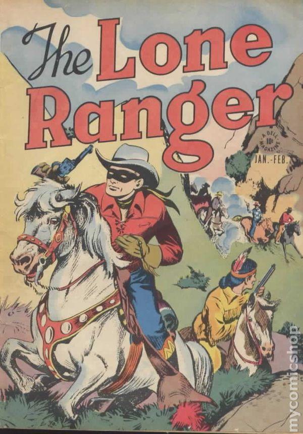 lone ranger  1948 dell  comic books