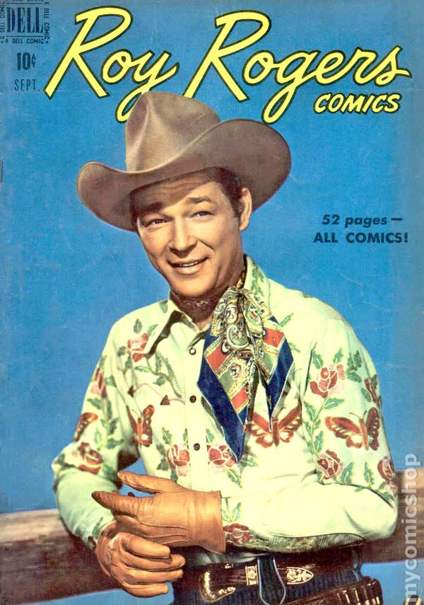 Roy Rogers Comics 1948 61 And Trigger 92 On Comic