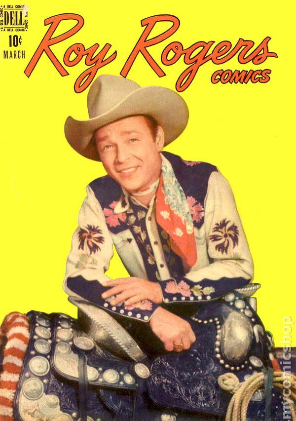Dell 10 Cent T Vol 1 No 51 March 1952 Roy Rogers King Of Cowboys Comics