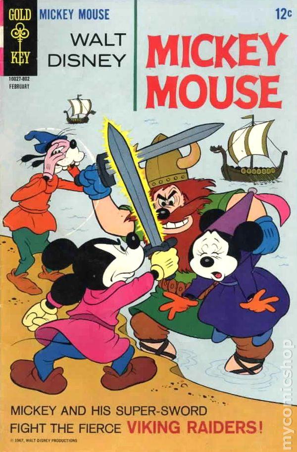 Mickey Mouse 1941 90 Dell Gold Key Gladstone Comic Books