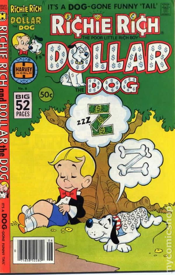 1977 Series #10 Very Fine Comics Book Special Summer Sale New Fashion Richie Rich And Dollar The Dog