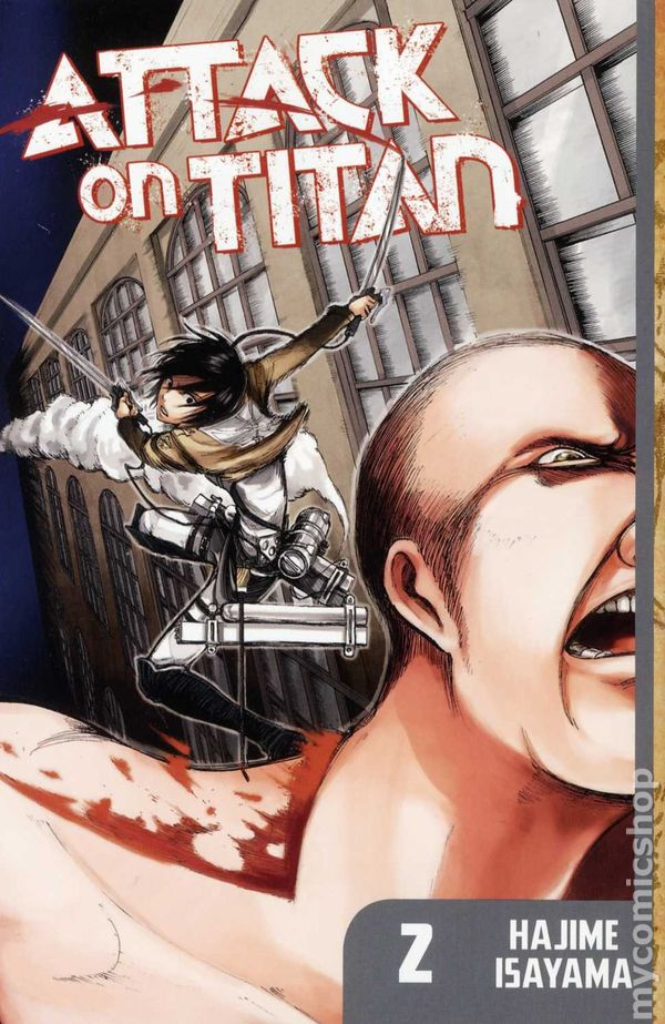 How To Make A Book Cover Art Attack : Attack on titan gn kodansha digest comic books