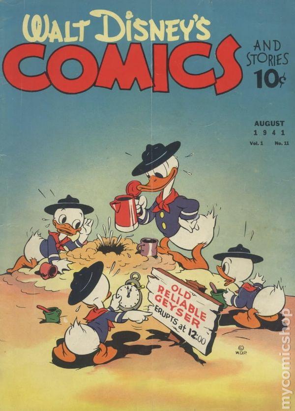 Walt Disneys Comics And Stories 1940 Dell Gold Key Gladstone 11
