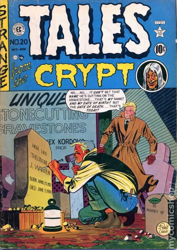 Tales From The Crypt 1950 EC Comics Comic Books