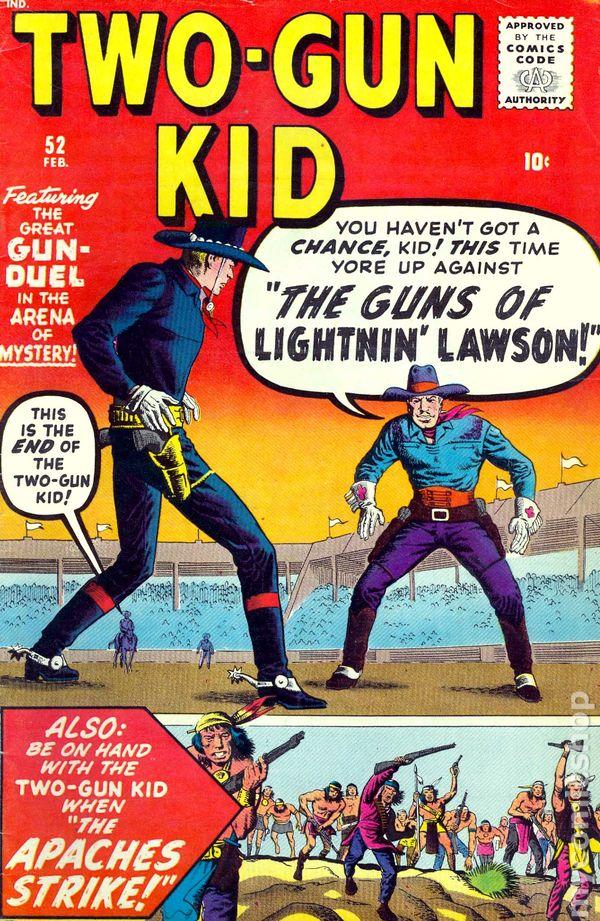 Two Gun Kid 1948 Comic Books