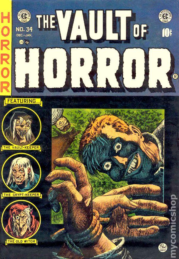 Vault Of Horror 1950 E C Comics Comic Books
