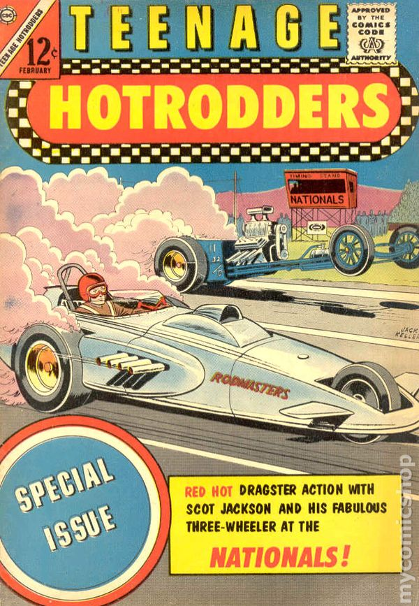 Teenage Hotrodders (1963) comic books 1964