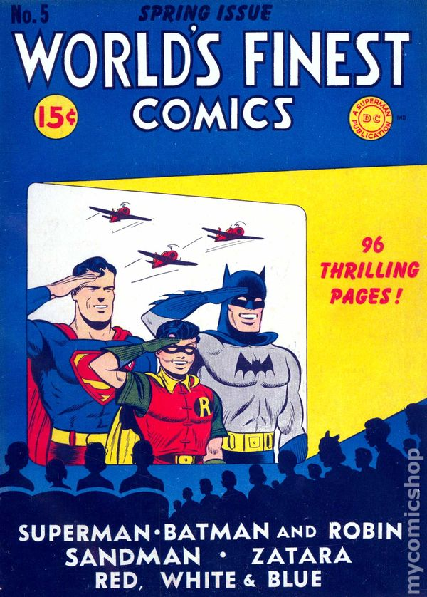 World's Finest (1941) comic books