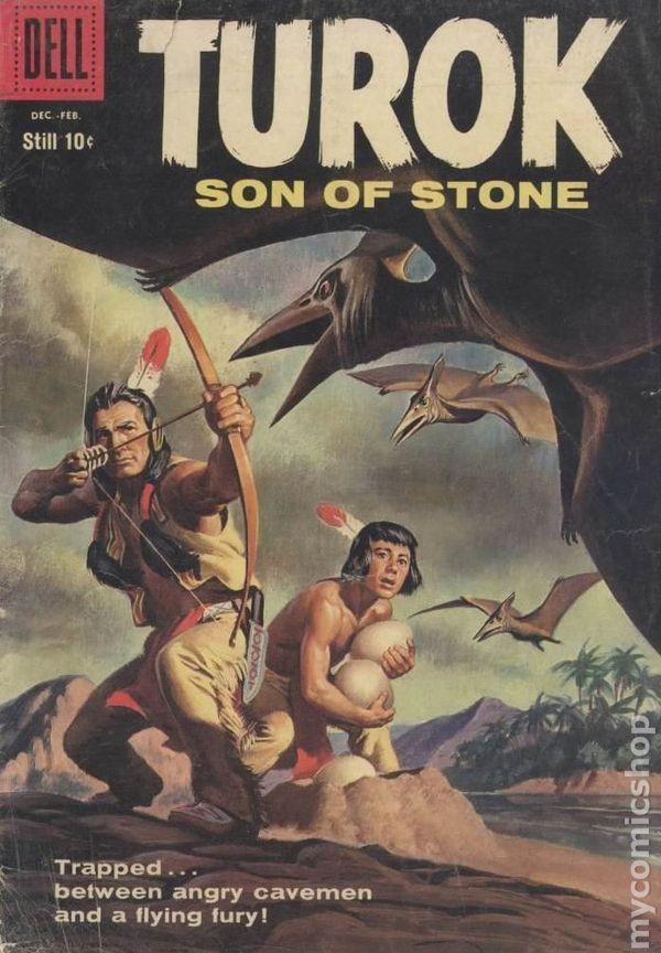 Turok Son Of Stone 1956 Dell Gold Key Comic Books 1958