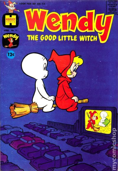 Wendy The Good Little Witch #50 Harvey Comics 1968
