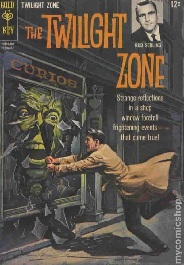Classic Book Cover Zone : Twilight zone st series dell gold key comic books