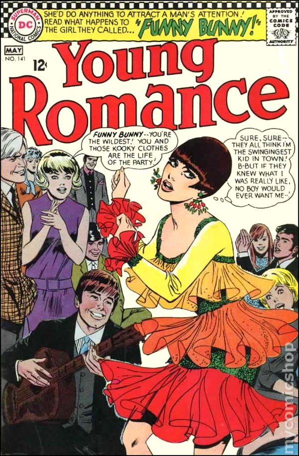 Young Romance Comics 1963 1975 Dc Comic Books