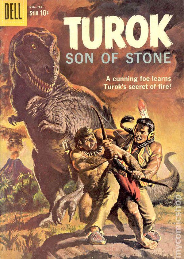 Turok Son Of Stone 1956 Dell Gold Key Comic Books