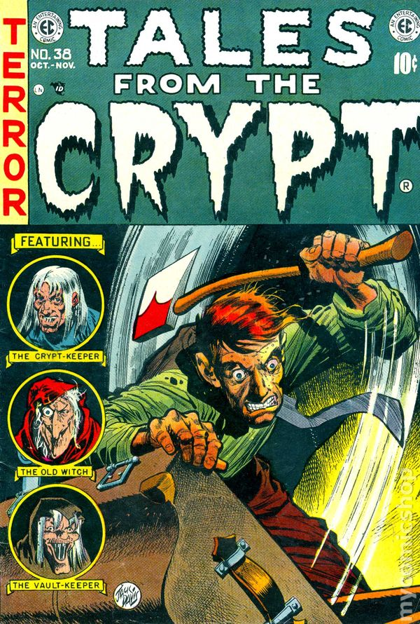 Tales From The Crypt 1950 EC Comics 38