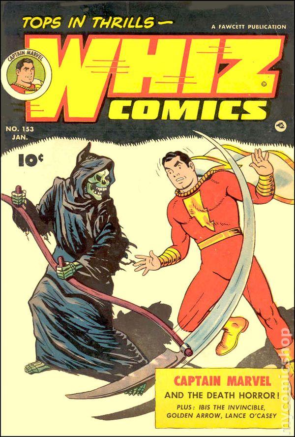 whiz comics  1940  comic books