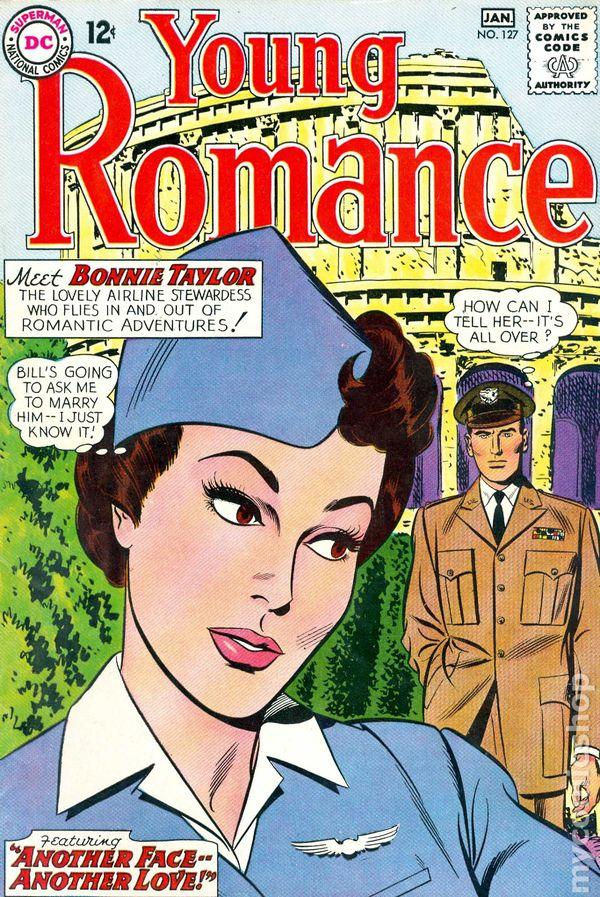 Young Romance Comics (1963-1975 DC) comic books 1964