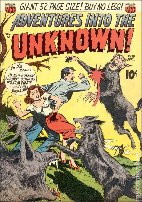 Adventures into the Unknown: The Howling Head and other stories