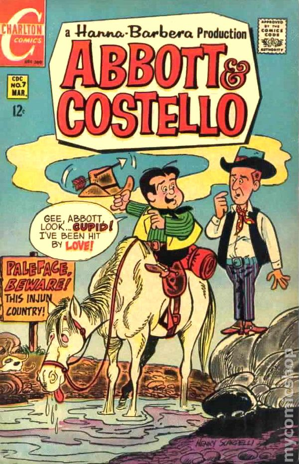 Abbott And Costello 1968 Charlton Comic Books