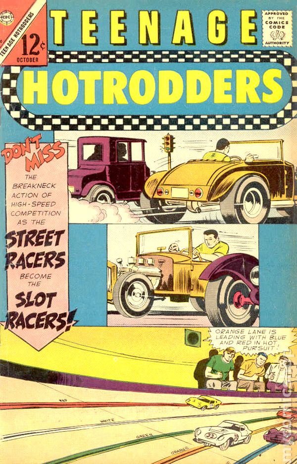 Teenage Hotrodders (1963) comic books 1966