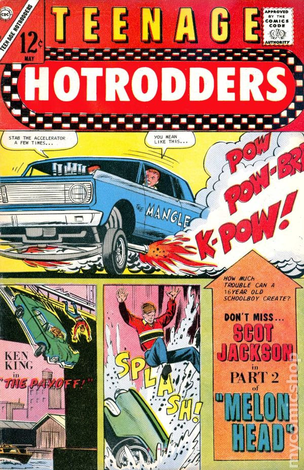 Teenage Hotrodders (1963) comic books