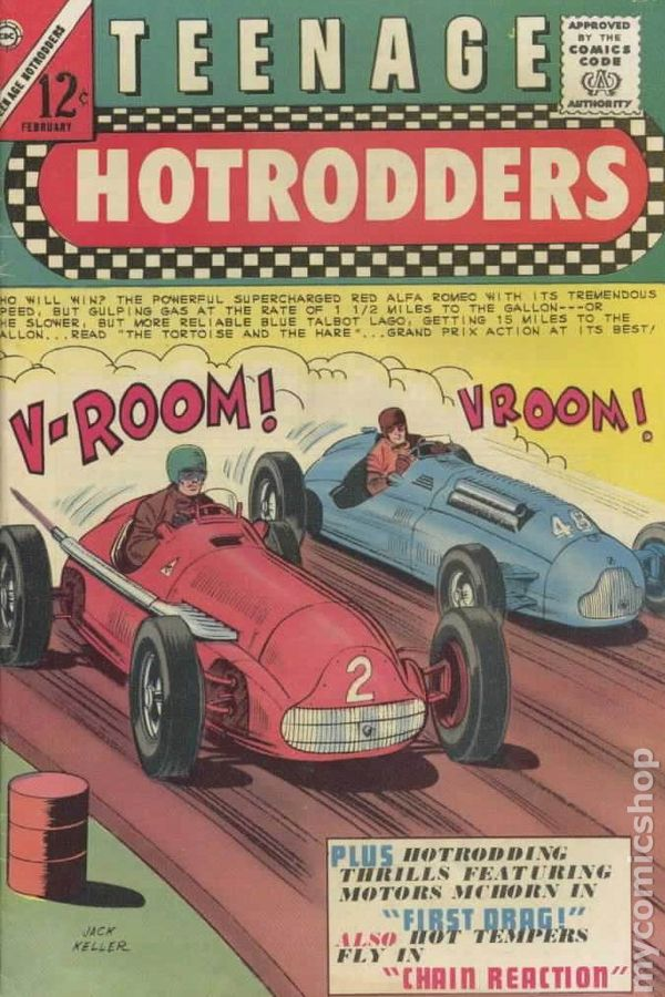 Teenage Hotrodders #11 1965 VG Stock Image Low Grade | eBay