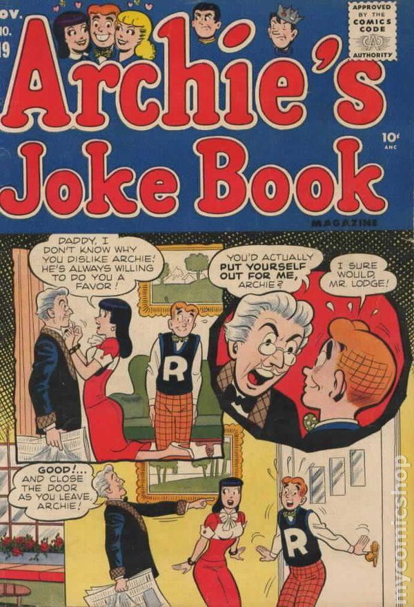 Archie S Joke Book 1953 Comic Books