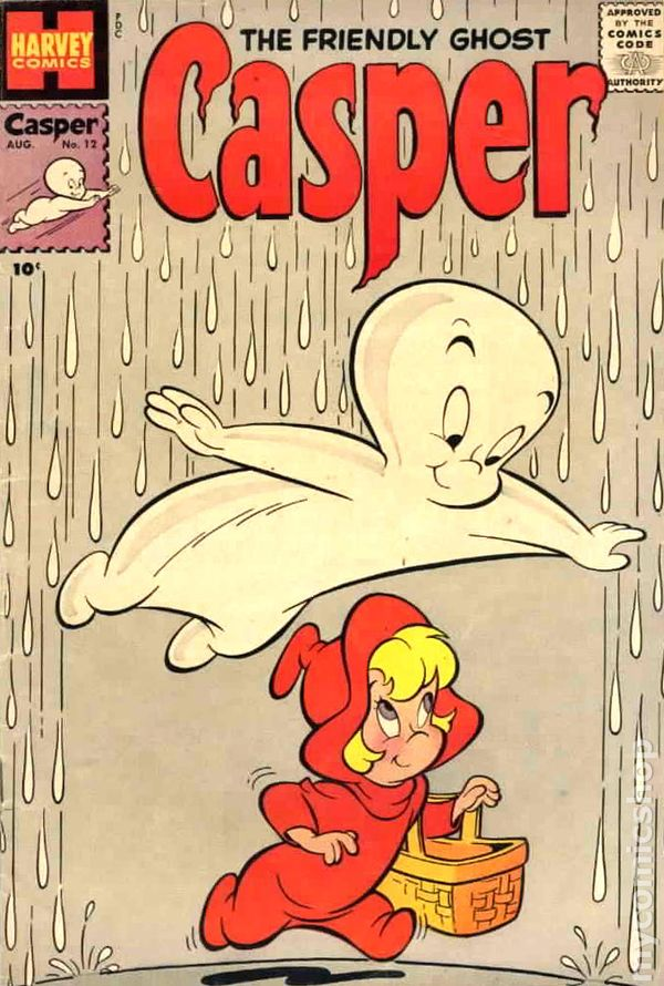 Image result for casper the friendly ghost comic book
