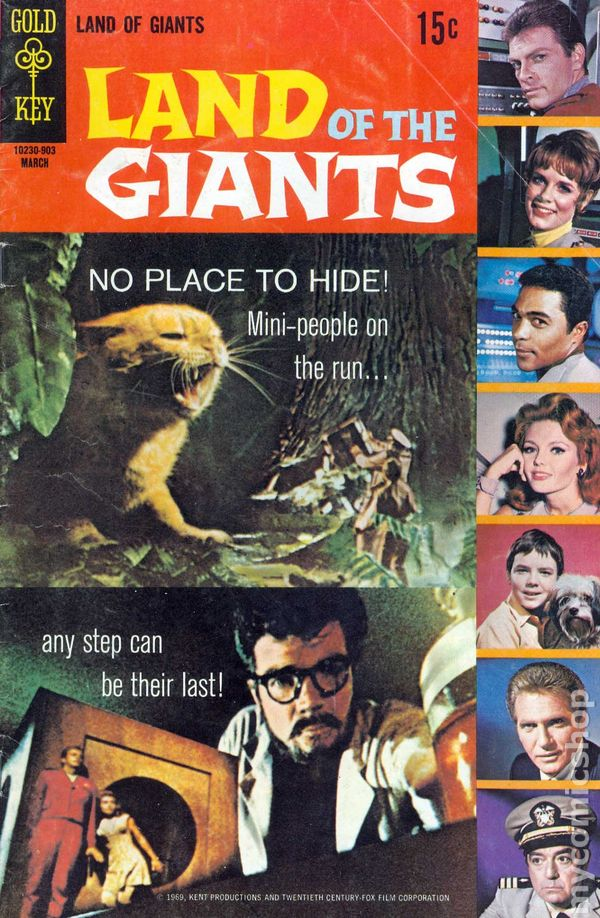 Land Of The Giants 1968 Gold Key Comic Books